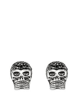 thomas-sabo-thomas-sabo-sterling-silver-crystal-set-mens-skull-earrings