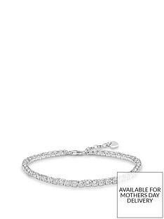 thomas-sabo-sterling-silver-cubic-zirconia-tennis-bracelet