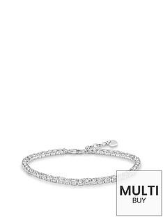 thomas-sabo-sterling-silver-cubic-zirconia-tennis-braceletnbspplus-free-karma-bead-bracelet