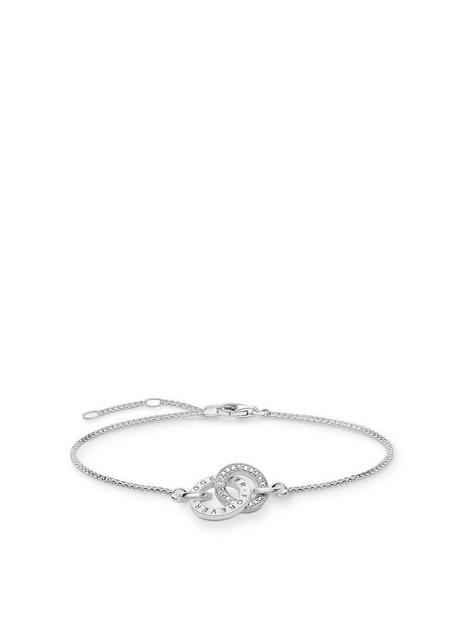 thomas-sabo-sterling-silver-logo-double-ring-bracelet