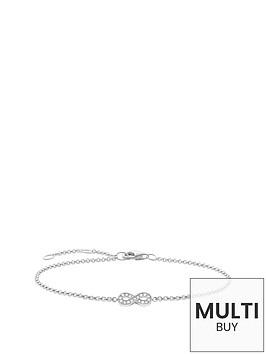 thomas-sabo-sterling-silver-diamond-set-infinity-bracelet