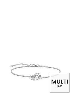 thomas-sabo-sterling-silver-diamond-set-together-forever-braceletnbspplus-free-karma-bead-bracelet