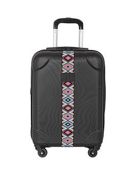 it-luggage-abs-single-expander-4-wheel-cabin-case