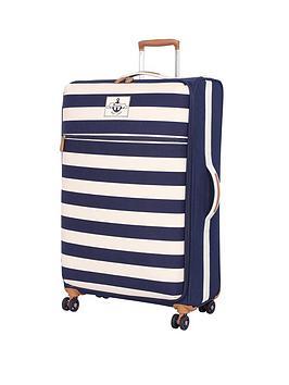 it-luggage-nautical-canvas-8-wheel-spinner-large-case