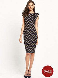 ax-paris-cap-sleeve-bodycon-midi-dress