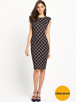 ax-paris-cap-sleeve-bodycon-midi-dress