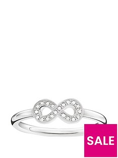 thomas-sabo-sterling-silver-diamond-set-infinity-ring