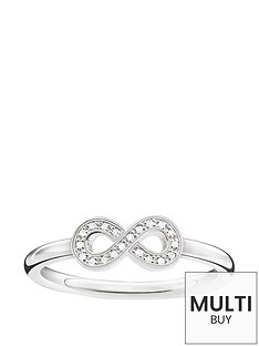 thomas-sabo-sterling-silver-diamond-set-infinity-ringnbspplus-free-diamond-bracelet