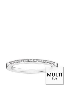 thomas-sabo-sterling-silver-diamond-set-ringnbspplus-free-diamond-bracelet