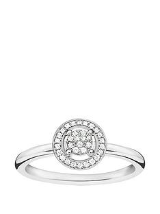 thomas-sabo-sterling-silver-diamond-set-halo-ring