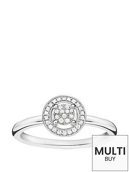 thomas-sabo-sterling-silver-diamond-set-halo-ringnbspplus-free-diamond-bracelet