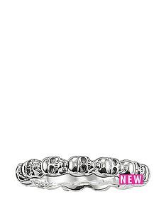 thomas-sabo-sterling-silver-mens-skull-ringnbspplus-free-karma-bead-bracelet