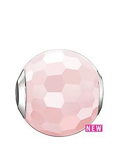 thomas-sabo-thomas-sabo-sterling-silver-facetted-pink-karma-bead