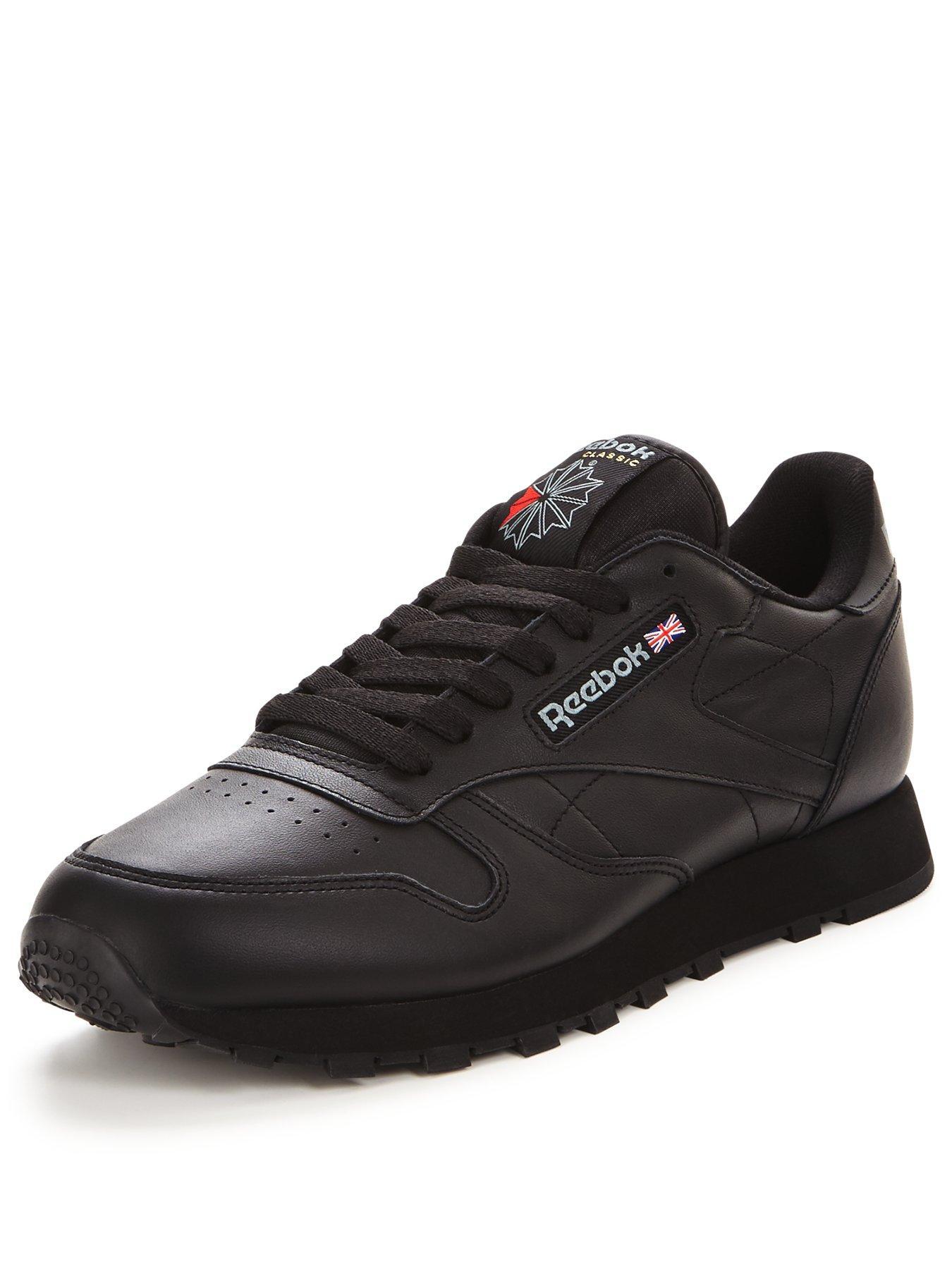 reebok classic all black