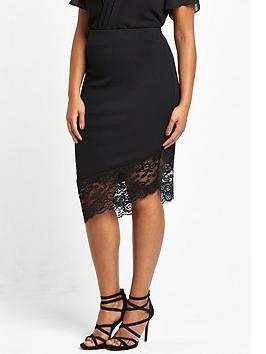 so-fabulous-curve-asymetric-lace-hem-jersey-skirt
