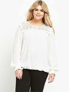 v-by-very-curve-lace-yolk-woven-blouse