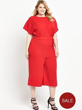 so-fabulous-d-ring-belt-culotte-jumpsuit-red