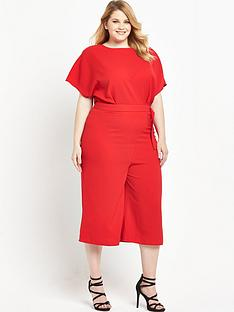 v-by-very-curve-d-ring-belt-culotte-jumpsuit-red