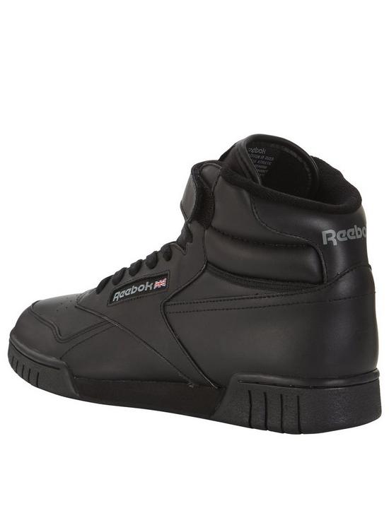 best service b9098 f0e72 Reebok Ex-O-Fit Hi - Black   very.co.uk