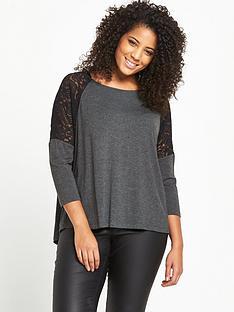 so-fabulous-lace-panel-drop-shoulder-jersey-top