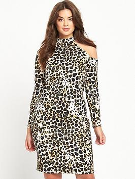 so-fabulous-curve-cold-shoulder-leopard-midi-dress