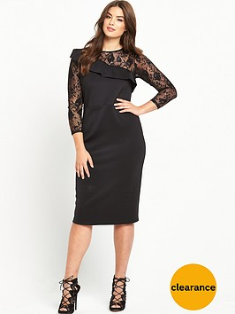 v-by-very-curve-curve-ruffle-detail-lace-slv-dress
