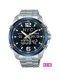 pulsar-pulsar-ana-digi-blue-bezel-stainless-steel-mens-watch