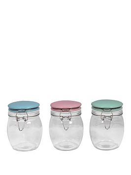 sabichi-porelain-top-3-piece-glass-cannister-set