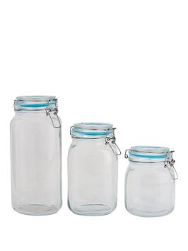 sabichi-large-clip-top-3-piece-glass-canister-s