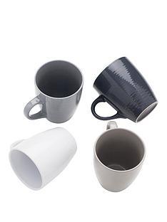sabichi-set-of-4-textured-mugs
