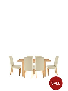 primo-extending-dining-table-6-derby-chairs-buy-and-save