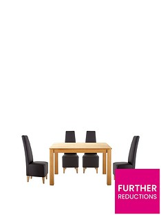 verona-120-cm-dining-table-4-manhattan-chairs-buy-and-save
