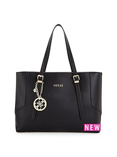guess-isabeau-logo-charm-large-tote-bag