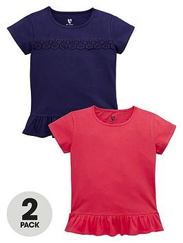 v-by-very-girls-lace-trim-peplumnbspt-shirts-2-pack