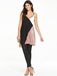 v-by-very-colour-block-pleated-tunic