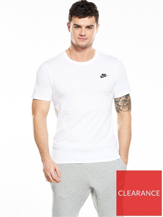 e65c3da7 Nike Sportswear Futura Club T-Shirt | very.co.uk