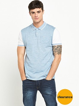 river-island-short-sleeve-blocked-polo-shirt