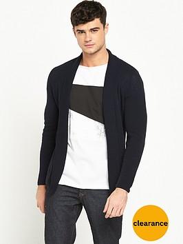 river-island-waffle-textured-cardigan