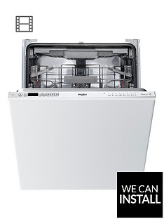 whirlpool-wic3c23pefuknbspbuilt-innbsp60cm-dishwasher-with-quick-washnbsp6th-sense-power-clean-pro-and-optional-installation-stainless-steel