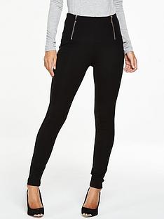 v-by-very-tall-zip-waist-ponte-leggings