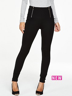 v-by-very-tall-zip-waist-ponte-leggings