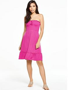 v-by-very-strapless-jersey-frill-beach-dress
