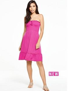 v-by-very-strapless-jersey-frill-beach-dress