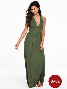 v-by-very-jersey-halter-neck-maxi-beach-dress