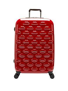 lulu-guinness-lips-4-wheel-spinner-medium-case