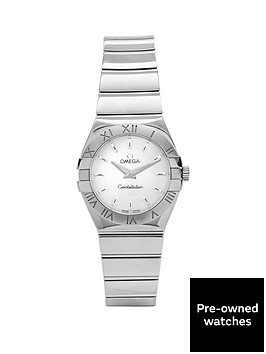 omega-omega-preowned-steel-constellation-original-mother-of-pearl-dial-reference-12310246005001-ladie