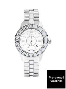 dior-dior-preowned-christal-original-diamond-bezel-reference-cd113112-v-ladies-watch-including-paperwork