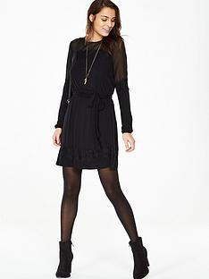 v-by-very-lace-trim-chiffon-detail-dress