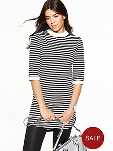 v-by-very-tall-collared-ponte-tunic