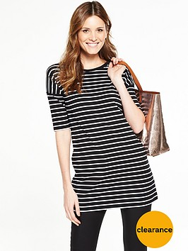 v-by-very-34-sleeve-tshirt-tunic